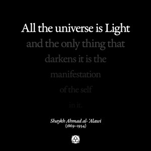All the Universe is Light